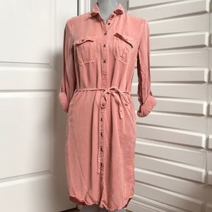 Casual Button Down Dress